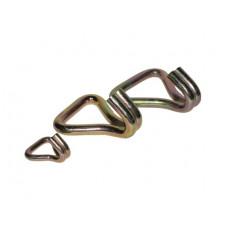 Крюк двупалый J-образный