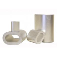 Втулки алюминиевые для обжатия стальных канатов